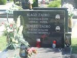 thumb Robert and Blago Zadro grave